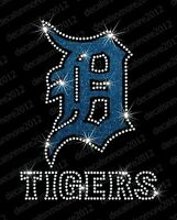 MLB Iron-on Glitter Vinyl /& Rhinestone Transfer Bling Los Angeles Angels