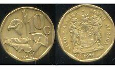 AFRIQUE DU SUD 10 cents 1991