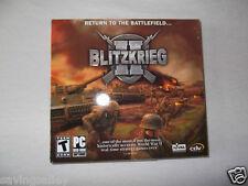 BRAND NEW Sealed Blitzkrieg II: Return To The Battlefield...(PC Games)