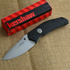 Kershaw Thistle Stonewashed 8Cr13MoV Plain Edge Folding Knife 3812