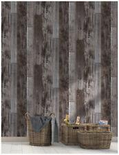 3D Peel and Stick Wood Wallpaper Shiplap Grey Vinyl Contact Paper Bathroom