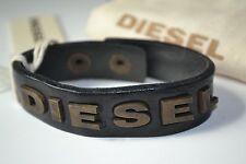 Diesel ADISO  Unisex Armband ASITT Bracciale Used look Neu Leder Leather