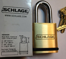 SCHLAGE Kryptonite PADLOCK with CP Classic Primus Cylinder