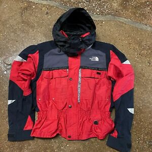 The North Face Womens Steep Tech Ripstop Jacket Red sz M