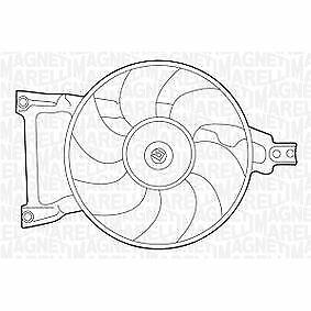 ELETTROVENTOLA RADIATORE FIAT CINQUECENTO 1991>1998 0.7/0.7i ORIGINALE 7694871