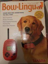 Takara Bow Lingual Dog Translator Bark Translator Red 2003 65001New