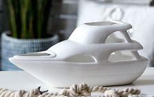 46172 Yate De Porcelana · blanco . vidriado también para Planta Altura 17cm