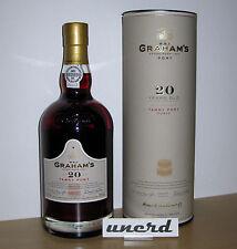 Portwein: Graham's 20 Years Old Tawny Port - Neu + ungeöffnet in Schmuckdose