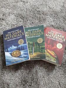 Philip pullman bundle his dark materials trilogy northern lights 3 books