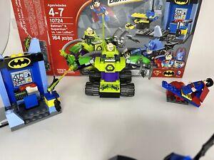Open Complete Lego Juniors BATMAN & SUPERMAN VS LEX LUTHOR