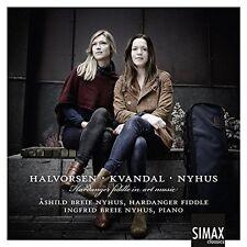 HARDANGER FIDDLE IN ART MUSIC: HALVORSEN, KVANDAL, NYHUS NEW CD