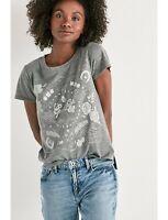 ⭐NWT⭐Lucky Brand Women's Good Luck Luck Moonshine Shirt SZ Extra Small⭐MSRP $40