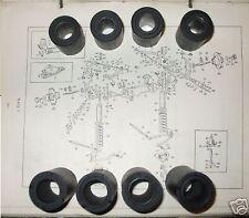 (x8) JAGUAR MkX Mk10      FRONT SUSPENSION WISHBONE BUSHES    (1961- 66)