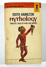 Mythology Timeless Tales of Gods and Heroes 32Nd Edith Hamilton 1942 Paperback