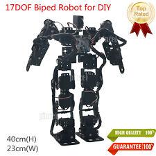 17DOF Biped Robotic Educational Robot Humanoid Kit Servo Bracket Ball Bearing