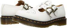 Para mujeres Zapatos Dr. Martens 8065 Cuero Mary Jane 26563100 Blanco Liso