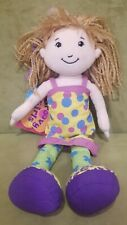 "Groovy Girls DOLL 12"" Siri Plush Manhattan Toy Company Original Polka Dot Dress"