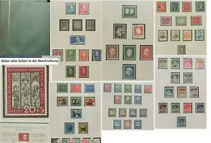 Bund –Sammlung 1949 – 1969 postfrisch im SAFE- Vordruckalbum