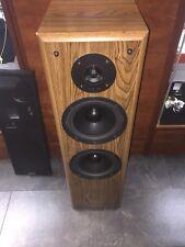 Vintage KLH AV-288 3 Way Speaker System Speaker 5-200 Watt 8Ohms