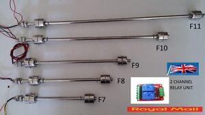 304 Stainless Steel Liquid Float Switch Water Level Sensor / Double float UK