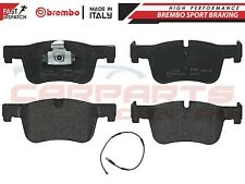 FOR BMW 1 3 4 SERIES FRONT GENUINE BREMBO BRAKE PADS PAD PLUS WIRE SENSOR