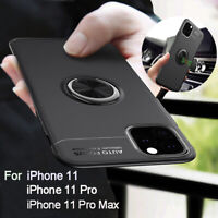 For iPhone 11 Pro Max Case Slim Hybrid TPU Car Magnetic Rugged Stand Cover NEW
