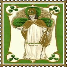 30 Custom Saint Patrick Stamp Personalized Address Labels
