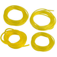 Pack of 4 Feet Replacement Gas Tygon Fuel Line 4 Sizes Yellow Fuel Tubing