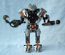 2002 Bionicle EXO-TOA 8557 - Lego Titan Warrior - 100% Complete Suit of Armor