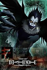 DEATH NOTE - RYUK POSTER - 24x36 ANIME MANGA 3210