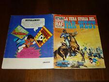 ALBUM FIGURINE LA VERA STORIA DEL FAR WEST Ed. SUPER RAF 1973 NON COMPLETO - OTT