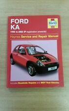 FORD KA MK1 PETROL 1996-2002 HAYNES WORKSHOP MANUAL 3570 IN GREAT COND FREE P&P