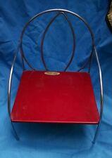 Vintage Jack-N-Jill Kiddie Child's Metal Doll Chair, Chrome Steampunk, 1950's?