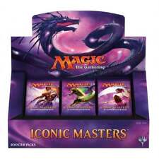 Magic the Gathering Iconic Masters Booster Box Factory Sealed & FREE SHIPPING