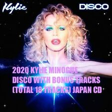 2020 KYLIE MINOGUE DISCO WITH BONUS TRACKS (TOTAL 18 TRACKS) JAPAN CD