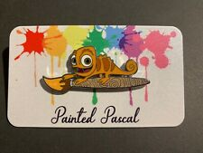 Disney Inspired Tangled Painted Pascal Fantasy Pin LE 100 (Orange LE 14)