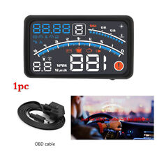 Car HUD head-up display OBD driving computer Head-up speed smart HD projector