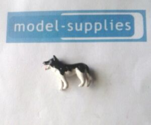 Corgi Gift Set 5 Agricultural set reproduction black & white plastic dog