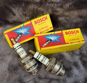 M225T1 NOS Original Bosch Spark Plugs 18mm FL W WL WLA Knuckelhead Vintage #135