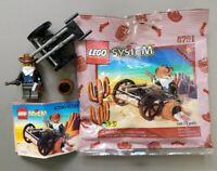 LEGO 6791 - Bandit's Wheelgun - 100% Complete w/ instructions polybag