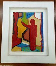 Carlo Massimo Franchi, Senza titolo, olio su tela, 24x31cm, opera firmata