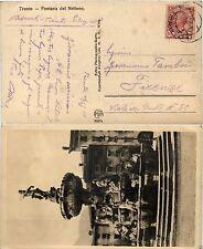OCC. AUSTRIACA I GUERRA MONDIALE-10c(82) annullo scalpellato Trento 23.12.1919