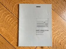 Yamaha DMP7 User Guide - MINT