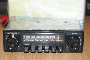 NEW Philips AN361 Boxed Classic Vintage 70s Car Radio MP3 Warranty NOS Vauxhall