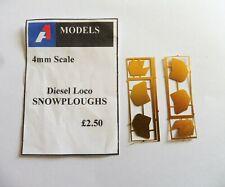 A1 MODELS 4MM DETAILING PARTS  Diesel Loco Snowploughs