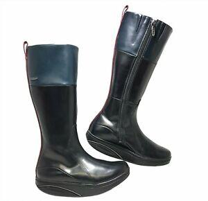 Women's MBT Leather Boots Tenga High Size 5 - 5.5 EU 36