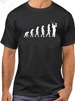 Evolution Golf T Shirt Funny Golfing Tee Sport T-Shirt Golfer Humor Gift Ideas