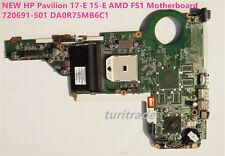 NEW HP Pavilion 17-E 15-E AMD FS1 Motherboard 720691-501 DA0R75MB6C1 DA0R75MB6
