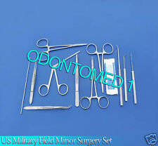 42 PC US Military Field Minor Surgery kit Surgical Instruments