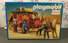 Playmobil 3245 Vintage Western Red Horse Cart Stagecoach Toy Playset Unopened